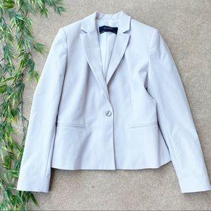 Zara Basic One Button Blazer